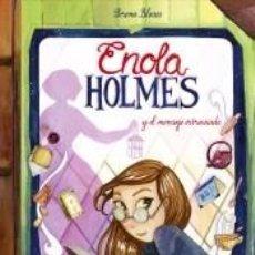Libros: ENOLA HOLMES Y EL MENSAJE EXTRAVIADO (ENOLA HOLMES. LA NOVELA GRÁFICA 5). Lote 246490270