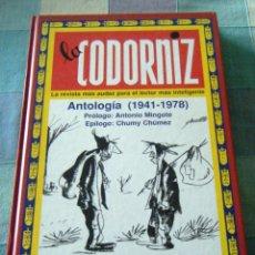 Libros: ANTOLOGÍA DE LA REVISTA LA CODORNIZ. Lote 249075455