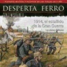Libri: REVISTA DESPERTA FERRO. CONTEMPORÁNEA, Nº 1, AÑO 2014. 1914, EL ESTALLIDO DE LA GRAN GUERRA. Lote 251986600