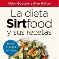 Libros: LA DIETA SIRTFOOD Y SUS RECETAS. Lote 253709505