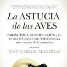 Libros: LA ASTUCIA DE LAS AVES. Lote 253709540