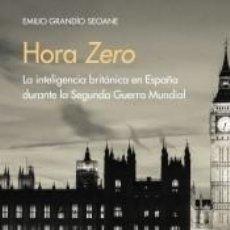 Libri: HORA ZERO. Lote 254476855