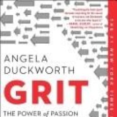 Libros: GRIT: THE POWER OF PASSION AND PERSEVERANCE. Lote 254545110