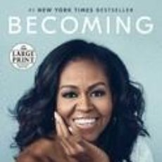 Libros: BECOMING. Lote 254545315