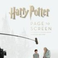 Libros: HARRY POTTER PAGE TO SCREEN: UPDATED EDITION: THE COMPLETE FILMMAKING JOURNEY. Lote 254545445