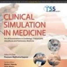 Libros: CLINICAL SIMULATION IN MEDICINE. Lote 254545700