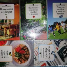 Libros: ¡¡¡ NUEVOS A ESTRENAR.!!! COLECCIÓN 5 LIBROS. BIBLIOTECA DEL HOGAR. CLUB INTERNACIONAL DEL LIBRO.. Lote 257736905