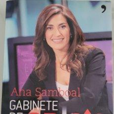 Libros: GABINETE DE CRISIS. ANA SÍMBOAL. Lote 258004100