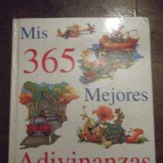 Libros: LIBRO MIS 365 MEJORES ADIVINANZAS ! 27,5 X 20 CM CON 130 PAGINAS . AÑO 2003. Lote 259034905