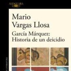 Livros: GARCÍA MÁRQUEZ: HISTORIA DE UN DEICIDIO. Lote 259205235