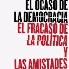 Libros: EL OCASO DE LA DEMOCRACIA. Lote 261348220