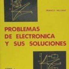 Libros: PROBLEMAS DE ELECTRÓNICA Y SUS SOLUCIONES. (TOMO 1). Lote 261550790