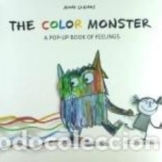 Libros: THE COLOR MONSTER: A POP-UP BOOK OF FEELINGS. Lote 262237250
