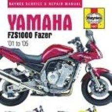 Libros: YAMAHA FZS1000 FAZER 01 TO 05. Lote 262348205