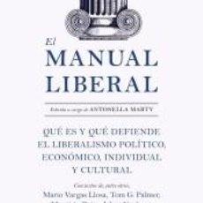 Libros: EL MANUAL LIBERAL. Lote 262348210