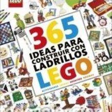 Libros: 365 IDEAS PARA CONSTRUIR CON LADRILLOS LEGO® NUEVA EDICIÓN. Lote 262348215