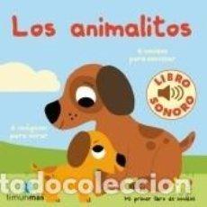 Libros: LOS ANIMALITOS. MI PRIMER LIBRO DE SONIDOS. Lote 262348290