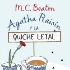 Libros: AGATHA RAISIN Y LA QUICHE LETAL. Lote 262348300