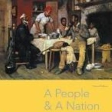 Libros: A PEOPLE AND A NATION: A HISTORY OF THE UNITED STATES. Lote 262399785
