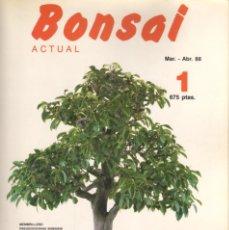 Libros: BONSAI ACTUAL REVISTAS DEL 1 AL 29. Lote 262540645
