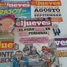 Libros: 5 REVISTAS EL JUEVES. Lote 262750745