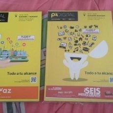 Libros: 2 LIBROS PÁGINAS AMARILLAS ALICANTE. Lote 263567710