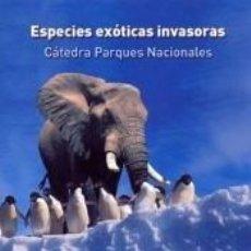 Livres: ESPECIES EXÓTICAS INVASORAS.. Lote 268579859