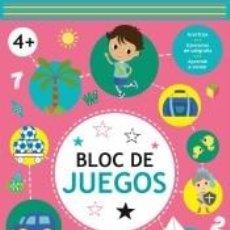 Libros: BLOC DE JUEGOS +4. Lote 270890438