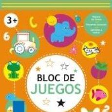 Libros: BLOC DE JUEGOS +3 NARANJA. Lote 270890523