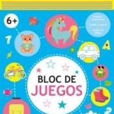 Libros: BLOC DE JUEGOS +6. Lote 270890553