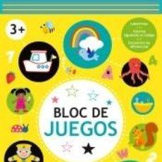 Libros: BLOC DE JUEGOS +3 AMARILLO. Lote 270890573