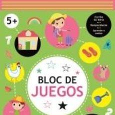 Libros: BLOC DE JUEGOS +5. Lote 270890588