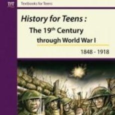 Libros: HISTORY FOR TEENS. Lote 271592133