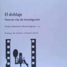 Libros: EL DOBLAJE. Lote 271592183