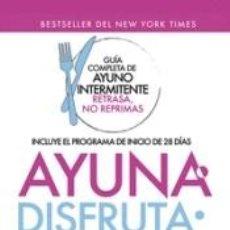 Libros: AYUNA, DISFRUTA, REPITE. Lote 276791433