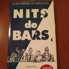 Livres: NITS DE BARS. Lote 277538383