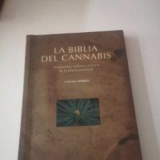 Libros: LA BIBLIA DEL CANNABIS CHEMA FERRER. Lote 278178528
