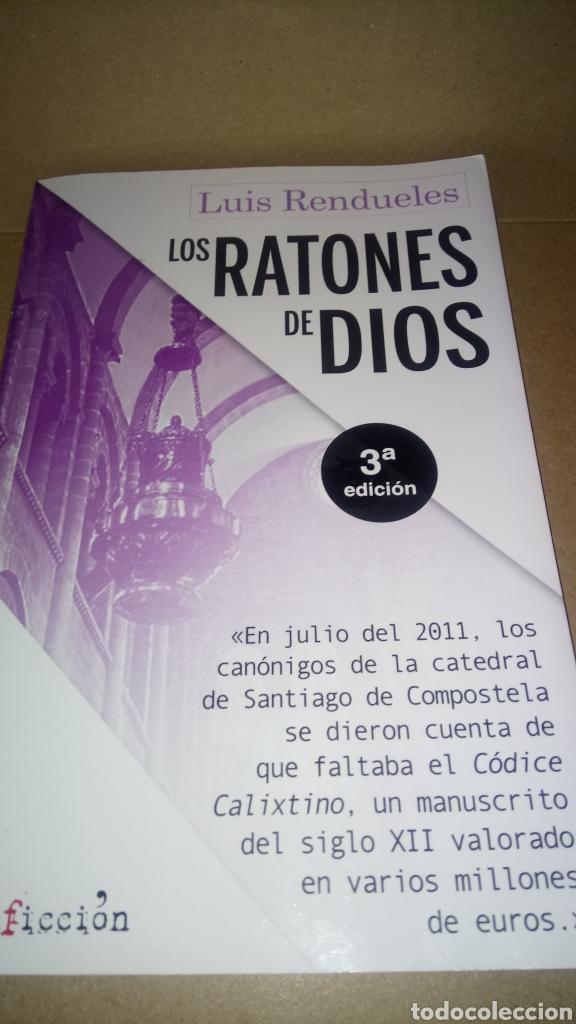 LIBRO LOS RATONES DE DIOS. LUIS RENDUELES. EDITORIAL SIN FICCIÓN. NÚMERO 3. AÑO 2019. (Libros Nuevos - Ocio - Otros)