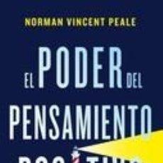 Libros: EL PODER DEL PENSAMIENTO POSITIVO. Lote 278928308