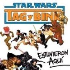 Libros: STAR WARS, TAG & BINK. Lote 279582178