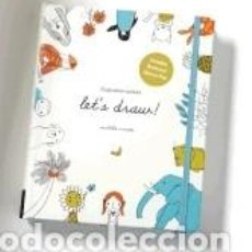 Libros: ILLUSTRATION SCHOOL: LETS DRAW! (INCLUDES BOOK AND SKETCH PAD): A KIT WITH GUIDED BOOK AND SKETCH. Lote 279582193