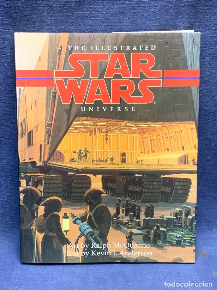 STAR WARS THE ILLUSTRATED UNIVERSE RALPH MCQUARRIE KEVIN J.ANDERSON LONDON 1995 29X22CMS (Libros Nuevos - Ocio - Otros)