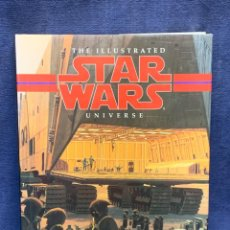 Libros: STAR WARS THE ILLUSTRATED UNIVERSE RALPH MCQUARRIE KEVIN J.ANDERSON LONDON 1995 29X22CMS. Lote 283864923