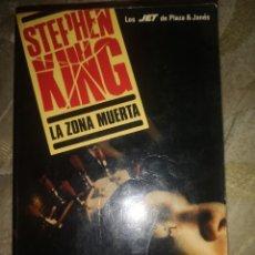 Libros: LIBRO LA ZONA MUERTA DE STEPHEN KING. Lote 285494128