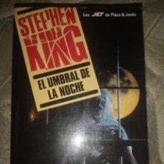 Libros: EL UMBRAL DE LA NOCHE STEPHEN KING. Lote 285494508