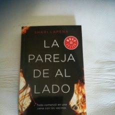 Libros: LIBRO LA PAREJA DE AL LADO. Lote 286833358