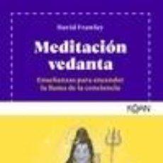 Libros: MEDITACIÓN VEDANTA. Lote 288008618
