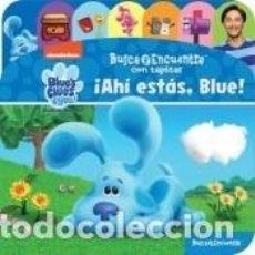 Libros: BUSCA Y ENCUENTRA CON TAPITAS BLUES CLUES. Lote 288008638