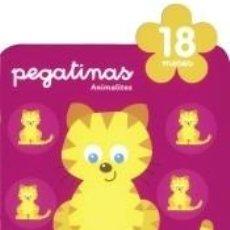 Libros: PEGATINAS ANIMALITOS 18 MESES. Lote 288114348