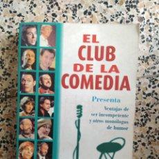 Libros: EL CLUB DE LA COMEDIA. Lote 288157033